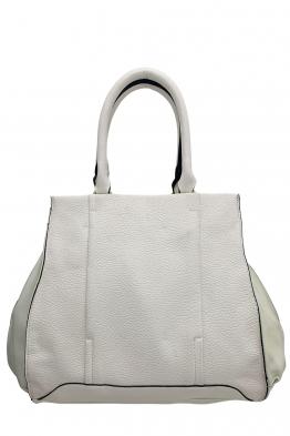 Чанта F 1029 бяла