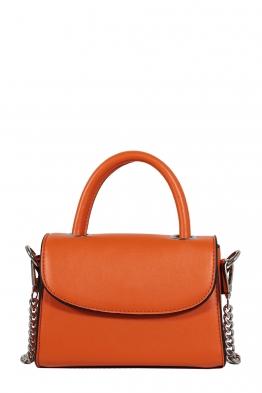 Дамска малка чанта през рамо 1336 оранж