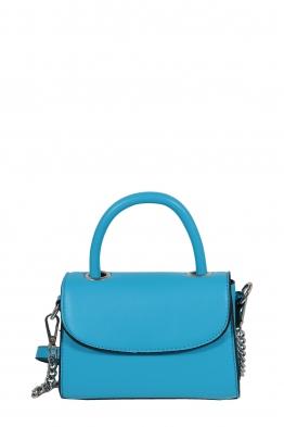 Дамска малка чанта през рамо 1336 синя