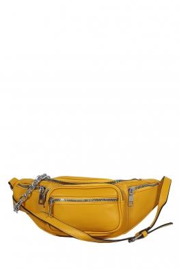Дамска чанта за кръста 7249 жълта