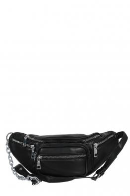 Дамска чанта за кръста 7249 черна