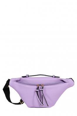 Дамска чанта за кръста JX22 лилава