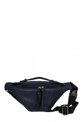 Дамска чанта за кръста JX22 тъмно синя
