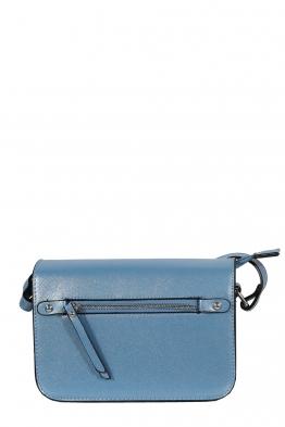Дамска чанта през рамо 3950 светло синя