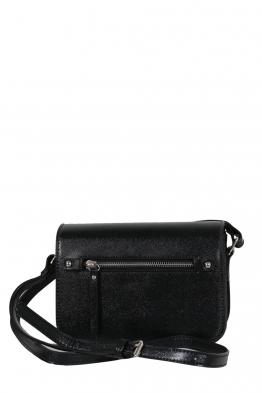 Дамска чанта през рамо 3950 черна