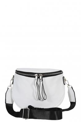 Дамска чанта през рамо 7620 бяла