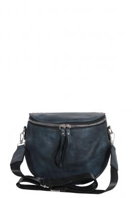 Дамска чанта през рамо 7620 синя