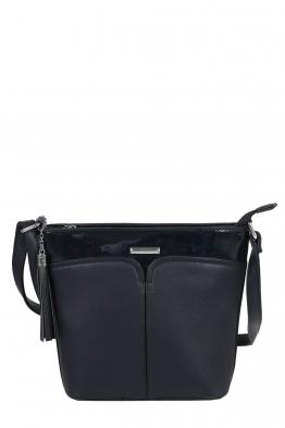 Дамска чанта 6773 тъмно синя
