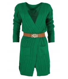Дамска жилетка САМАНТА зелена