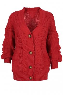 Дамска жилетка ANABEL A-1 червена