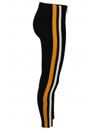 Дамски клин RUN с жълт кант