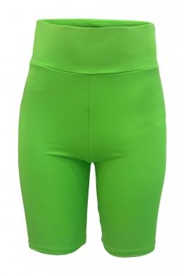 Дамски клин FIT зелен неон