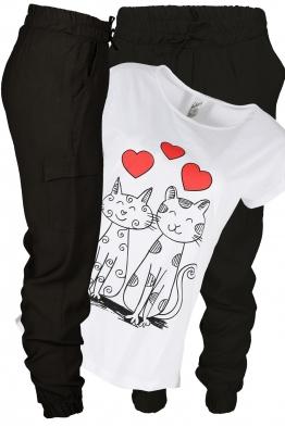 Дамски комплект CAT LOVE