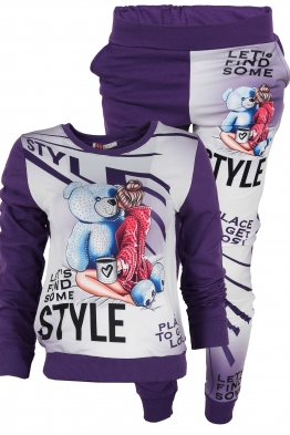 Дамски комплект 2012-6 лилав