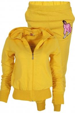 Дамски комплект 2013-2 жълт