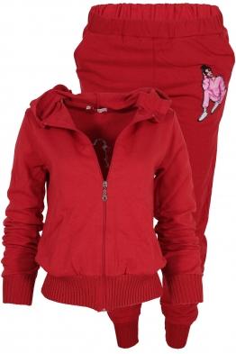 Дамски комплект 2013-2 червен