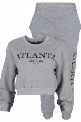 Дамски комплект ATLANTA сив