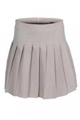 Къса пола плисирана АДМИРАЛ цвят камък