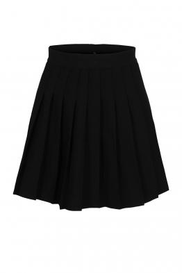 Къса пола плисирана АДМИРАЛ черна