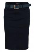 Пола с колан AF 3301/02 тъмно синя