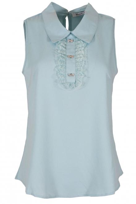 Дамска блуза 959 светло синя