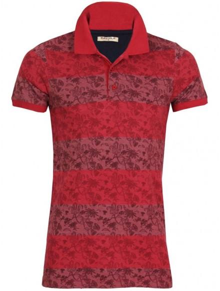 Блуза с якичка Slim fit 05030 А-1