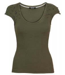 Дамска блуза ПУДРА А - 1 зелена