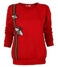Дамска блуза БИИ А-2 червена