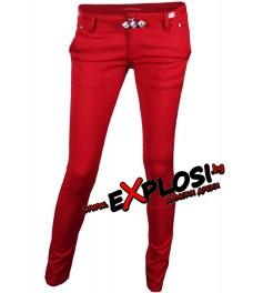 Дамски панталон DM2267 червен