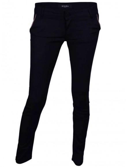 Дамски панталон DM 3280 тъмно син