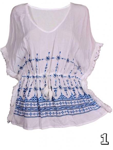 Дамска блуза -пончо ЕЛЕНА