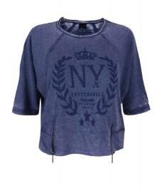 Дамска блуза ДЖИНА синя
