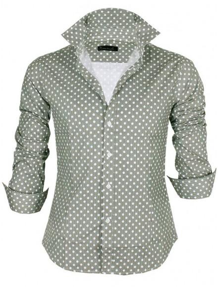 Мъжка риза Slim fit М 506 А - 2  002