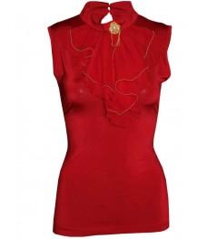 Дамска блуза ЛЕЙДИС червена