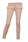 Дамски чино панталон F8866 розов