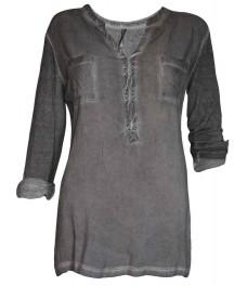 Дамска блуза ФОРЕСТ сива