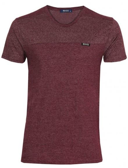 Блуза slim fit  2012 бордо