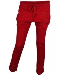 Дамско долнище МОРИСС цвят червен