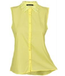 Дамска блуза МЕЙЛ цвят жълт