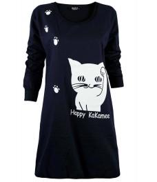 Туника  HAPPY CAT А - 1 тъмно синя