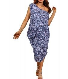 Дамска рокля  МАЙОРКА  А - 2 шарен принт