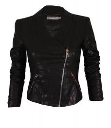 Дамско яке 2108 черно