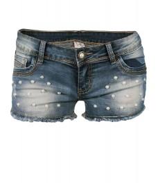 Дънкови къси панталони 1103