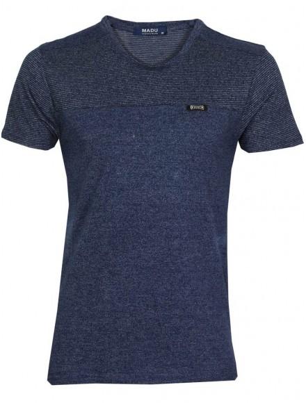 Блуза slim fit  2012 тъмно синя