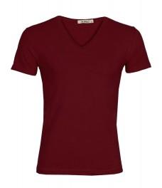 Мъжка тениска slim fit ЛЕКСУС бордо
