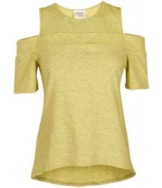 Дамска блуза КАПРИ жълт меланж