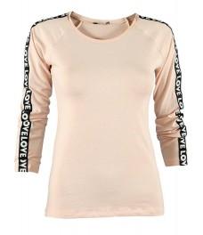 Дамска блуза ФИТ ЛАВ ябълков цвят