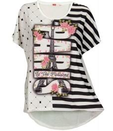 Дамска блуза ПАРИЖ бяла