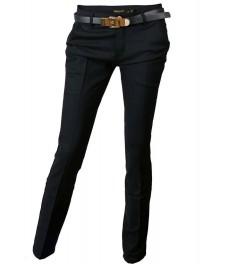 Дамски панталон 3405 тъмно син