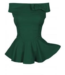 Блуза РОМАНТИКА зелена